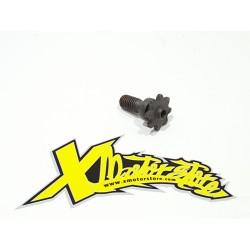 Pignone minimoto M8 Z8 rinforzato