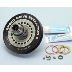 PIAGGIO-GILERA ALUMINUM CONDUIT PULLEY KIT