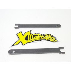 Pair of swingarm log keys dm