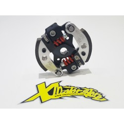 COMPLETE GHR CLUTCH 2 MASSES D. 80 G-CARBON-TECH WITH G-RADIUS PLATE BLACK