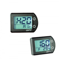 GPT digital thermometer with double H2o Air reading