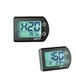 Termometro digitale GPT con doppia lettura H2o Aria