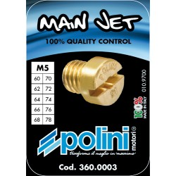 SET OF 10 JETS DELLORTO 5 mm