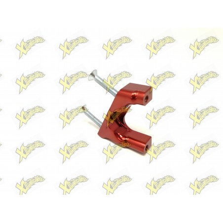 CNC SUPPORT FOR HYDRAULIC FRONT BRAKE CALIPER FACTORY + SCREWS FOR STEMS D. 28
