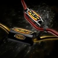 Complete motorcycle handlebars