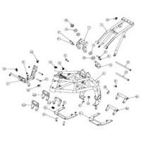 Ohvale chassis spare parts